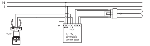 Hytronik DS02 Wiring Diagram