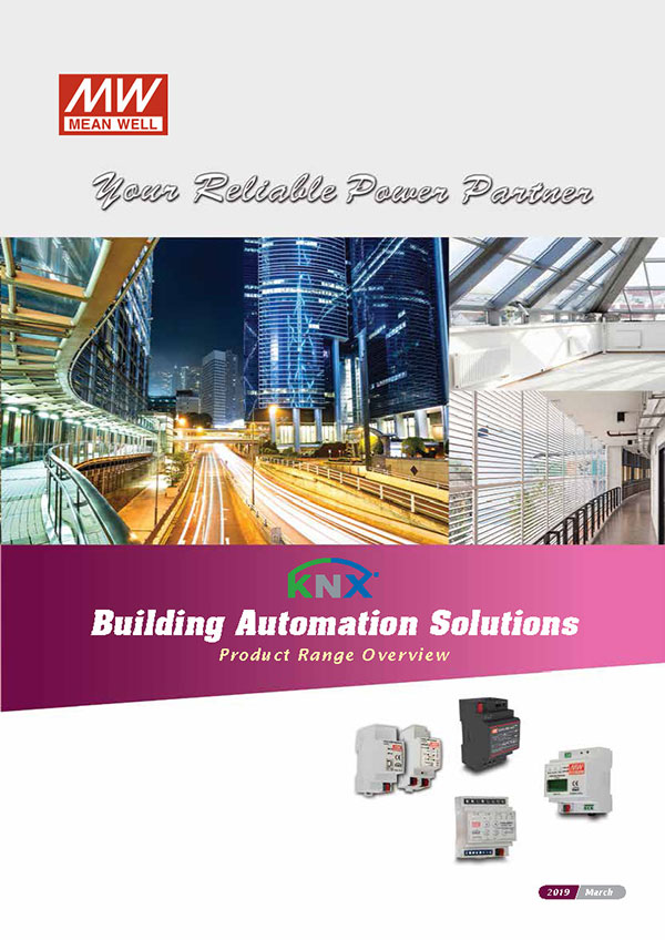 MEAN WELL KNX Building Automation Products
