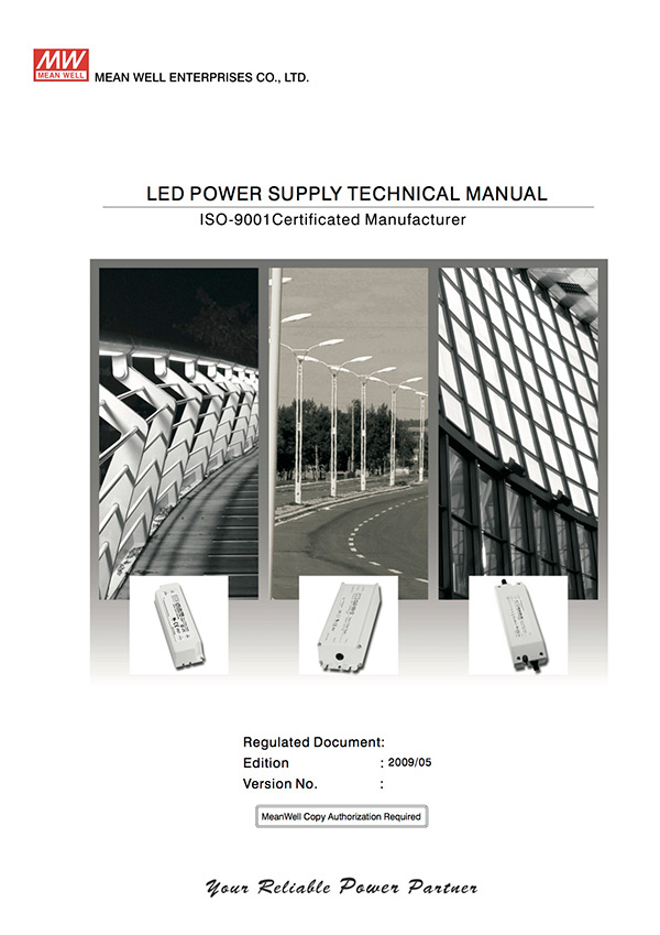 MEAN WELL LED Technical Manual