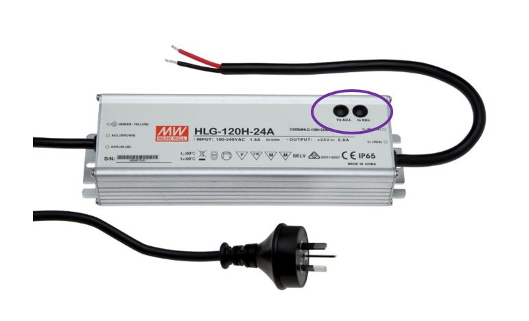MEAN WELL HLG-120H IP65 LED Driver