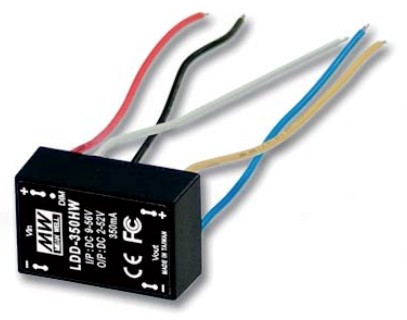 MEAN WELL LDD-350HW DC TO DC LED DRIVER