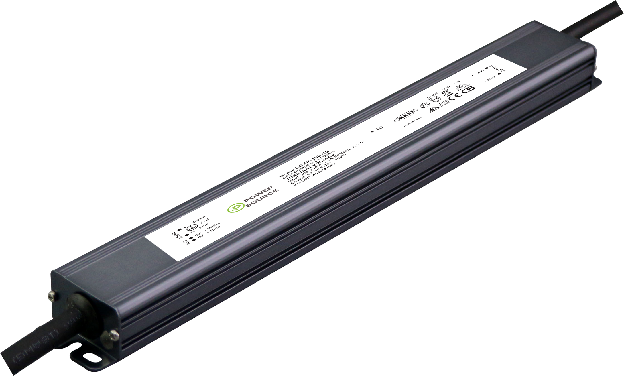 POWER SOURCE LDVP-100 LINEAR LED DRIVER