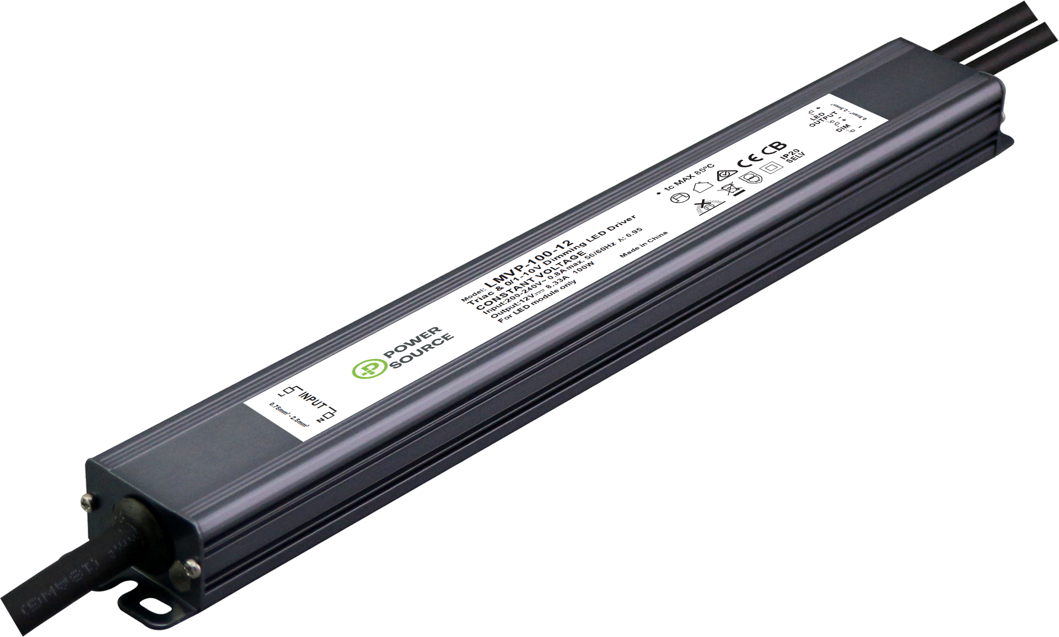 POWER SOURCE LMVP-100 LINEAR LED DRIVER