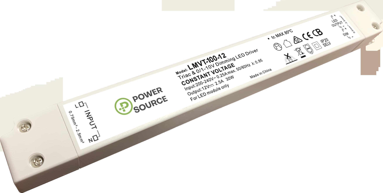 POWER SOURCE LMVT-100 LINEAR LED DRIVER