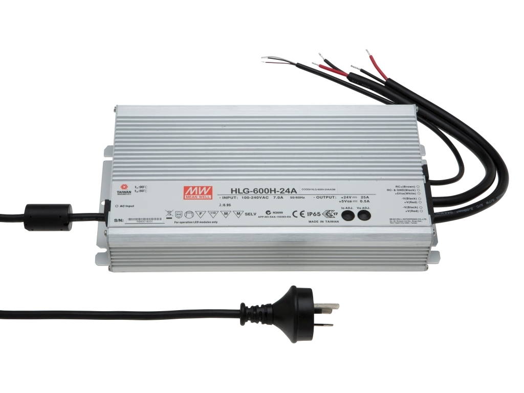 MEAN WELL HLG-600H Constant Voltage LED Driver