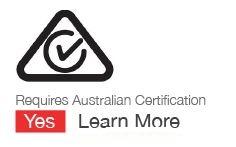 Australian approved power supply identifier