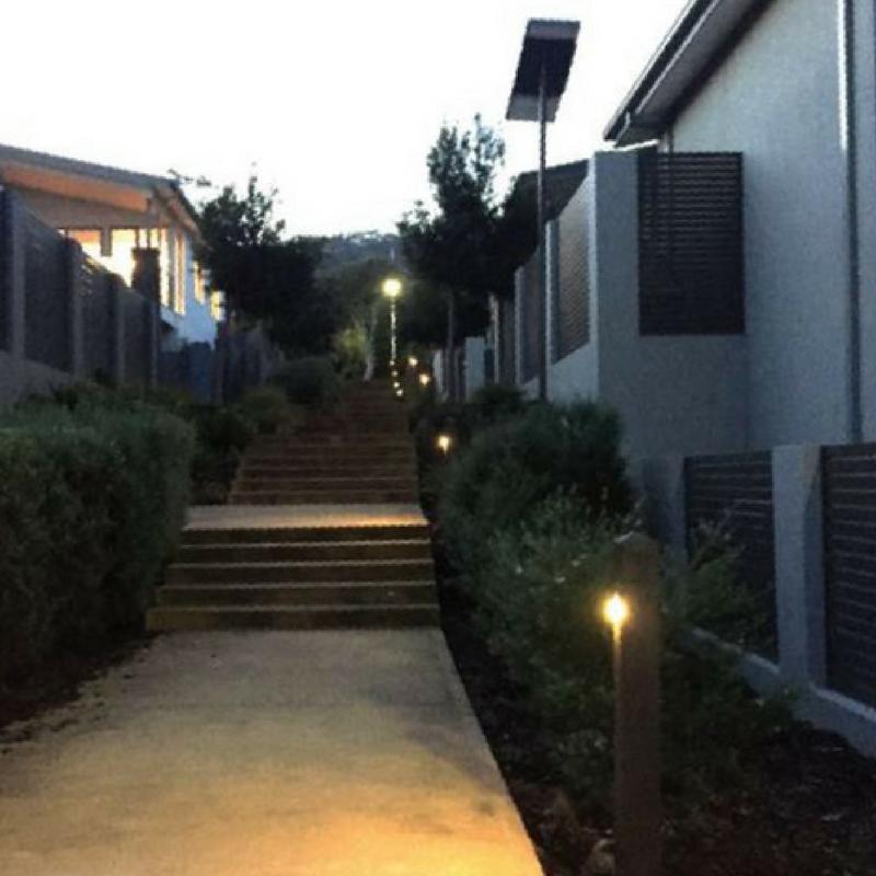 Solar battery powered LED lights