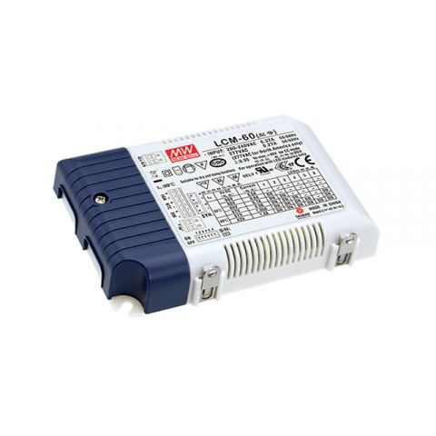 MEAN WELL constant current LED drivers