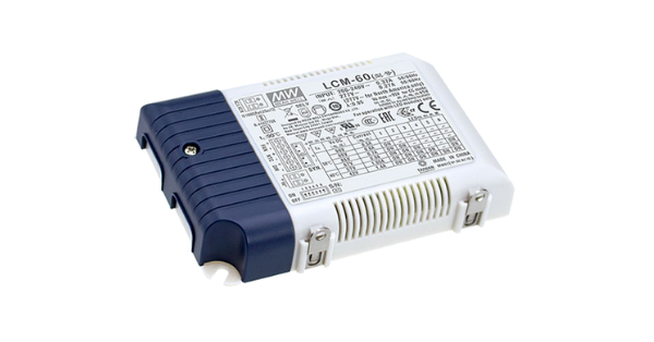 EXPANDED OUTPUT CURRENT OPTIONS ON MEAN WELL LCM SERIES LED DRIVERS