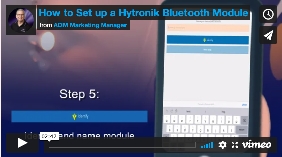 How to set up a Hytronik Bluetooth lighting control module